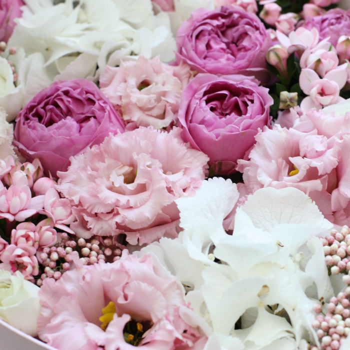 Цветы и макаруны XL (⌀30 см), №0176