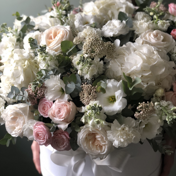 Цветы в коробке King Size №0607