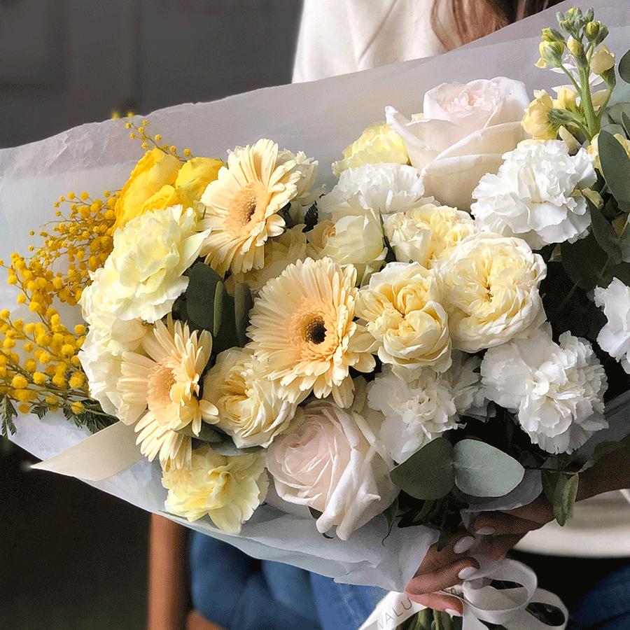 """Букет """"Весна в городе"""" №0552"""