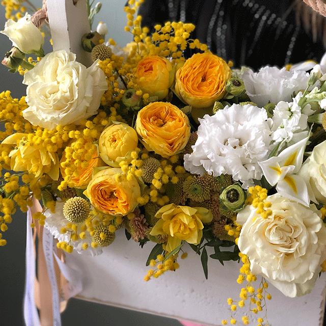 Цветы в ящике №0991