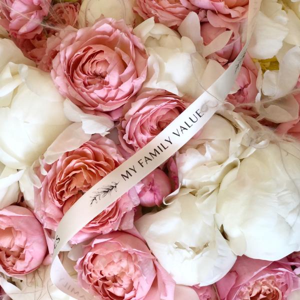 Дуобукет пионы+пионовидные розы  №0312