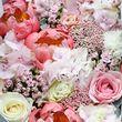 Цветы и макаруны 3XL (⌀40 см), №0168