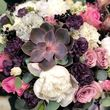 Цветы в коробке М (⌀20 см), №0614