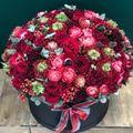 Цветы в коробке King Size №5019