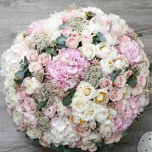 Цветы в коробке King Size (⌀45 см), №0581