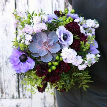 """Букет невесты """"Каменная роза"""", №7001"""