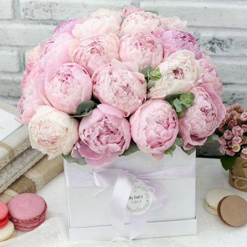 Цветы в коробке L, №0592