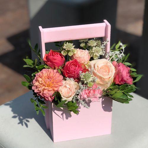 Ящик с цветами №0364