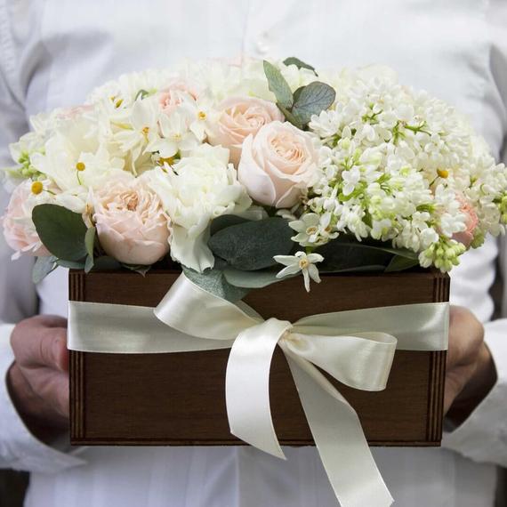 Цветы в ящике №1328