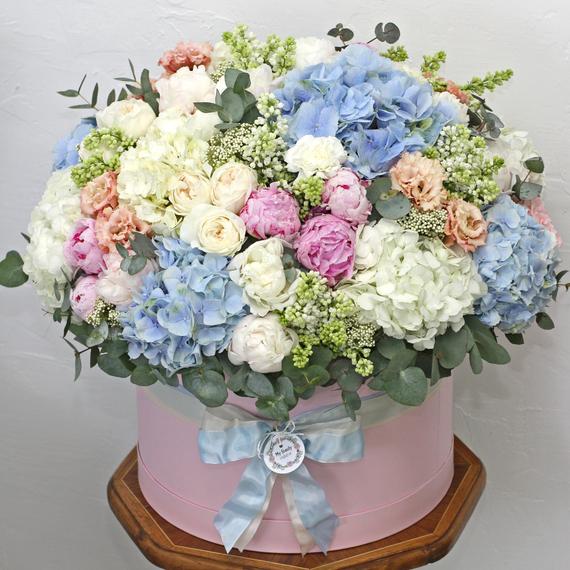 Цветы в коробке King Size №0606