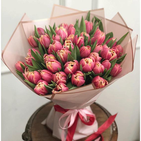 Тюльпаны пионовидные Коламбус №0978