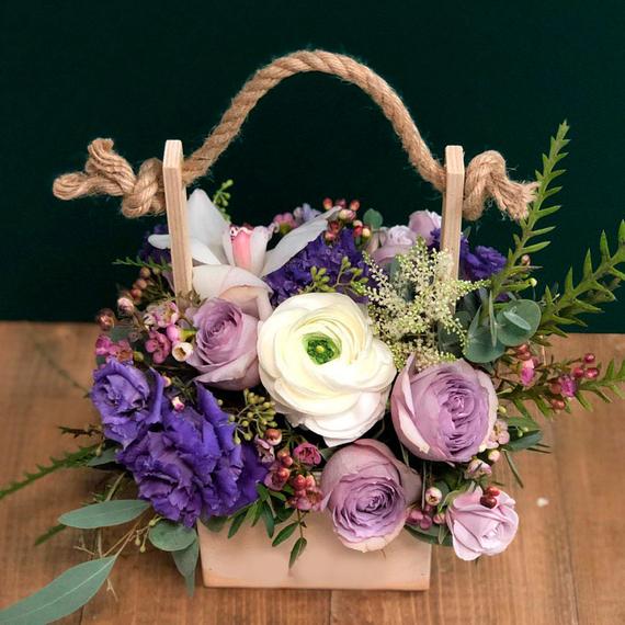 Цветы в ящике №1681