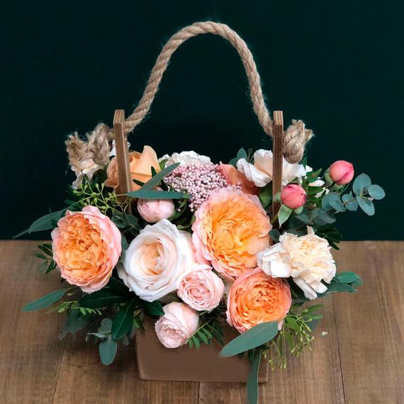 Цветы в ящике №1682