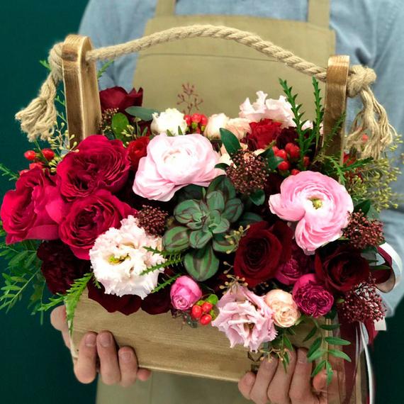 Цветы в ящике №1684