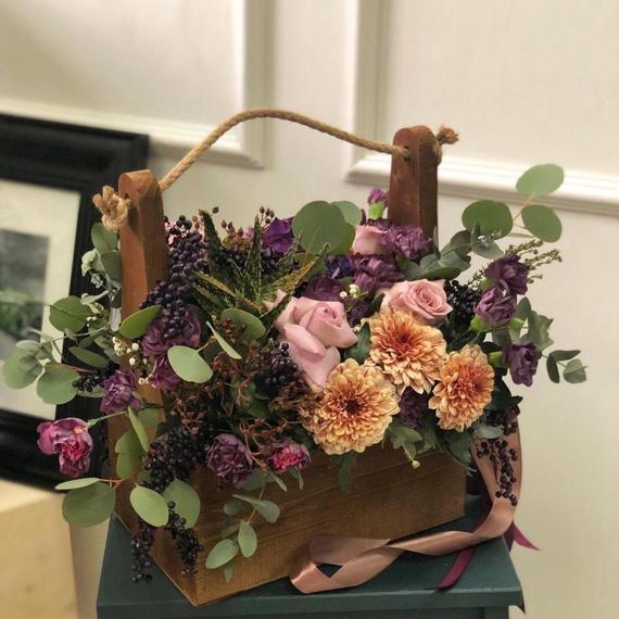 Цветы в ящике №1686