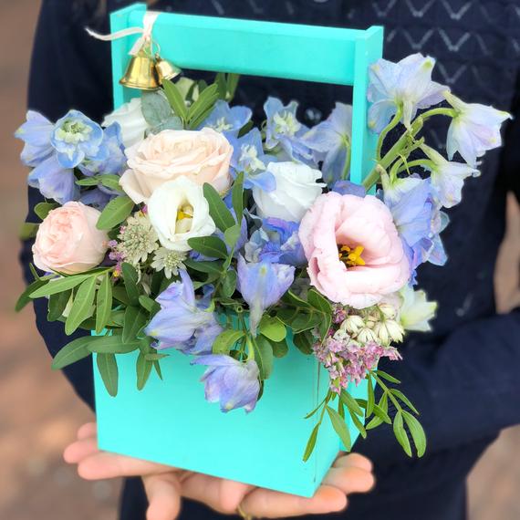 Цветы в ящике №0363