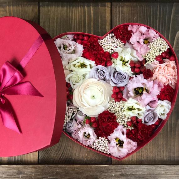 Коробка с цветами №5013