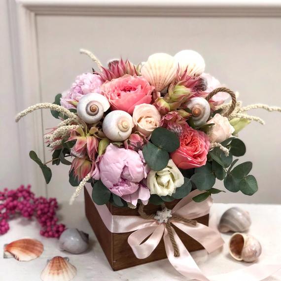 Цветы в ящике №1309